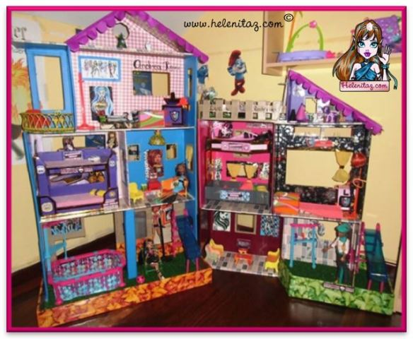 Casitas para Monster High