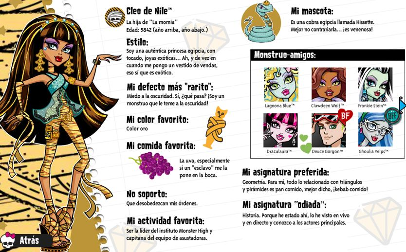 Biografía de Cleo de Nile