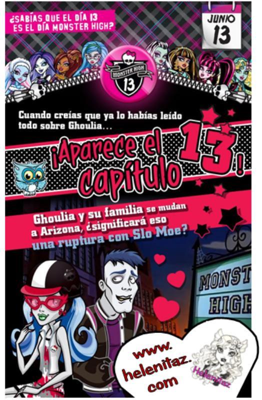 Imágen Propiedad de Monster High y Mattel Inc.