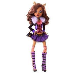 Clawdeen doll