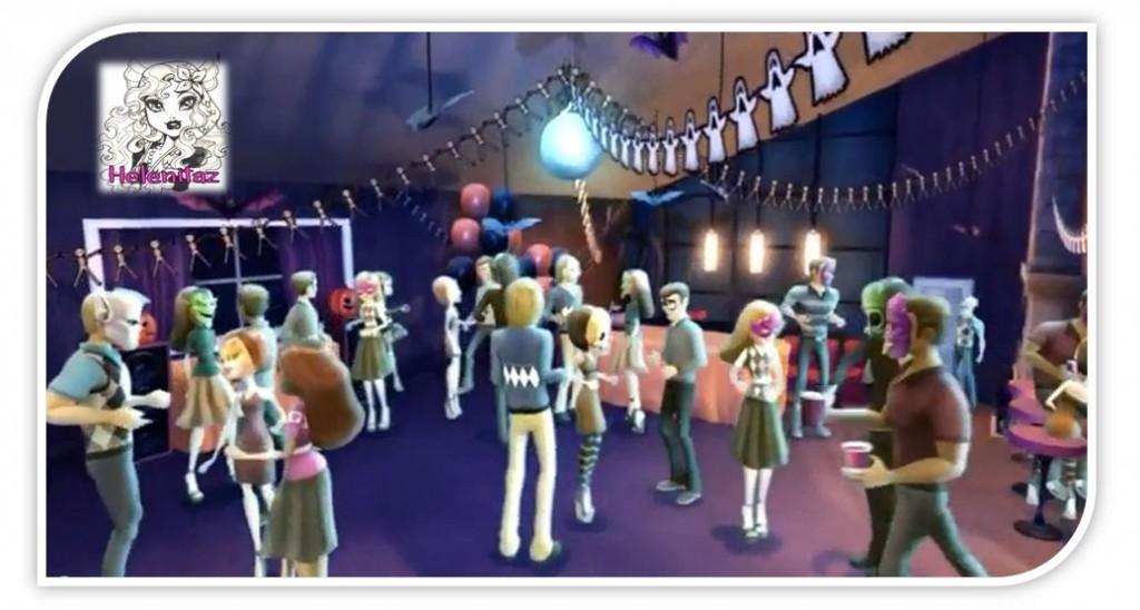 Una escena del Baile de los normis en el DVD Ghouls Rule.