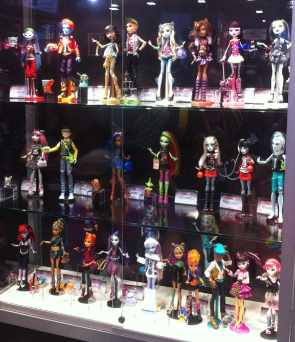 Personajes Monster High Producidos hasta el momento