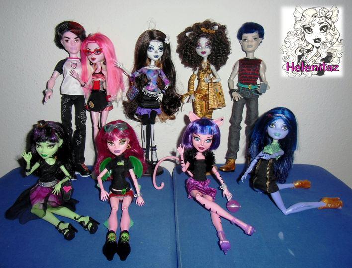 Mis hermosos Chicos y Chicas de la línea Create a Monster - CAM