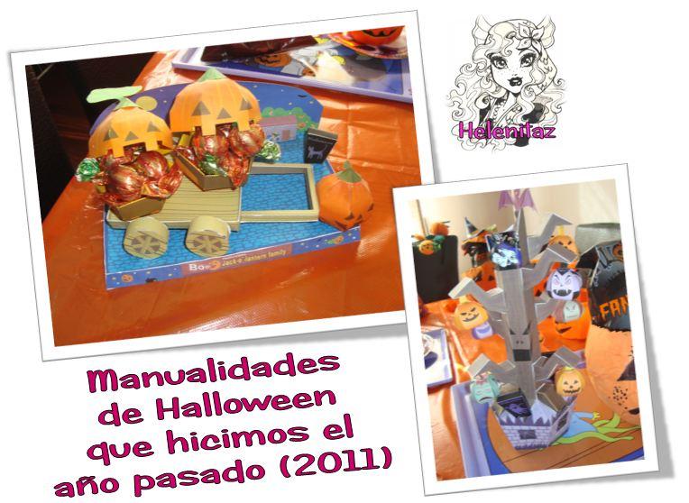 Manualidades de Halloween de Helenitaz.com