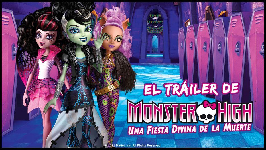 Trailer Peli Halloween Monster High