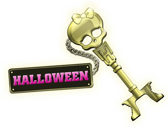 Llave que da acceso a la Fiesta de Halloween de Monster High