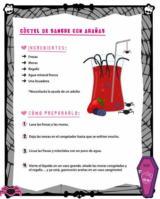 Recetas Monster High
