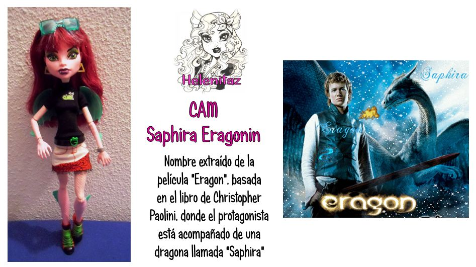 Saphira Eragonin de Helenitaz.com