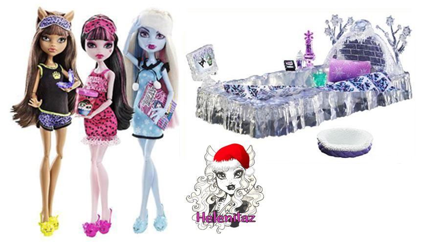 Monster high la cama de hielo de abbey bominable hot - Camas monster high ...
