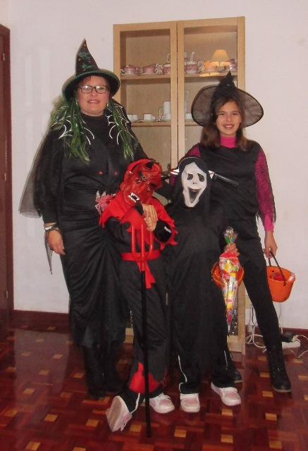 Nuestros Disfraces de Halloween