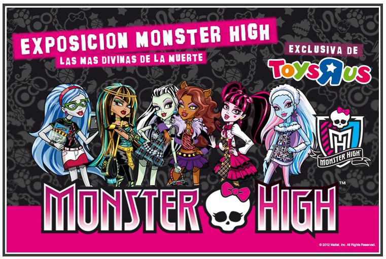 Expo Monster High por Toys R Us