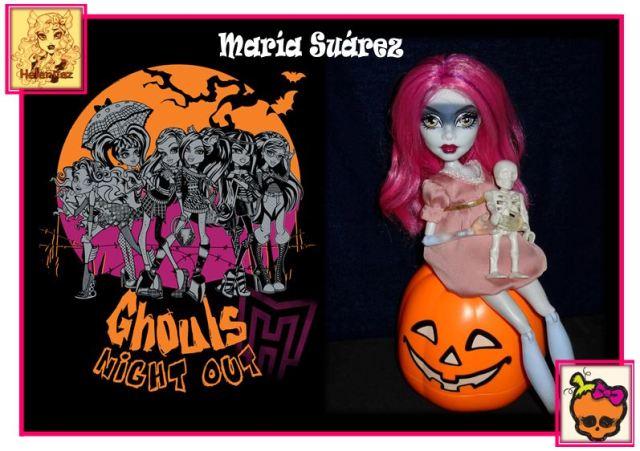 1ª Foto de Halloween de María Suárez