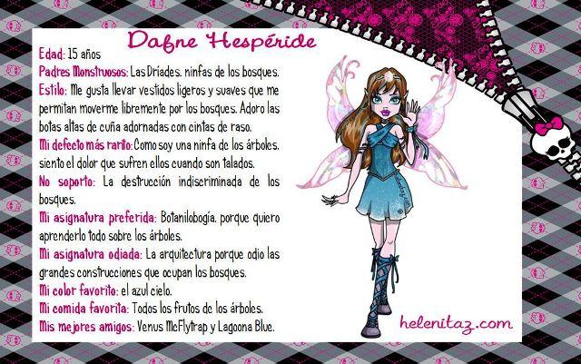 Biografía de Dafne