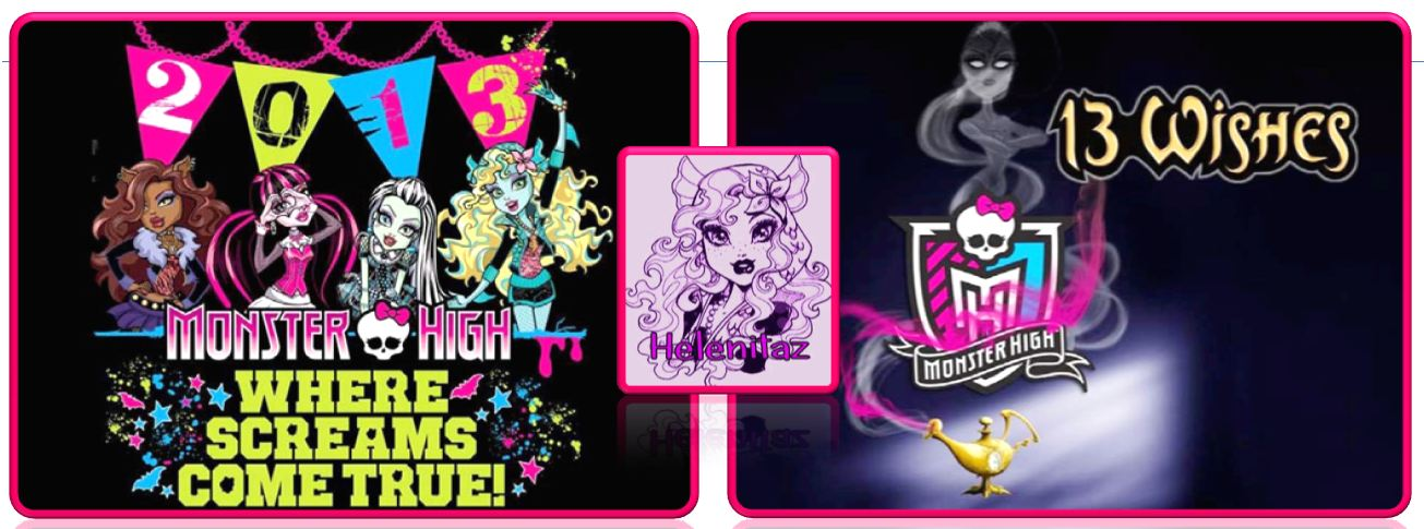 Welcome to 2013 !!! El año de la suerte Monster High