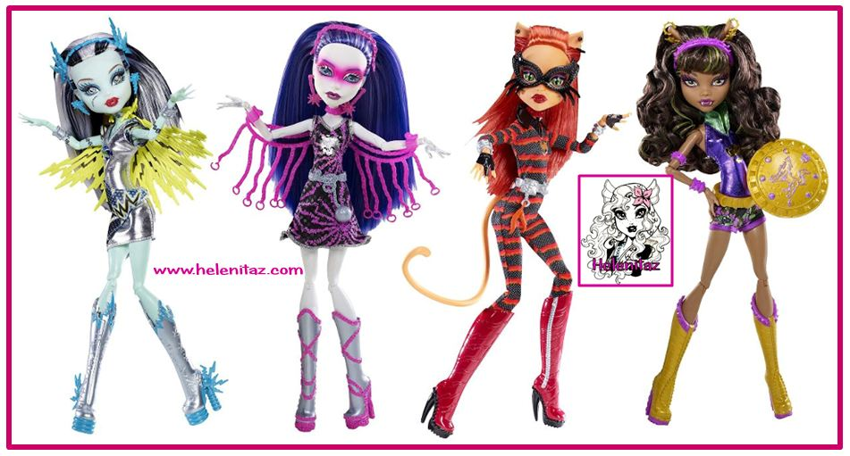 Power Ghouls Monster High
