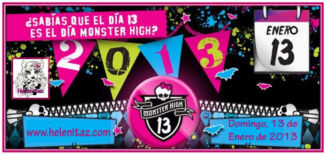 13-enero-13  /  Primer día Monster High del 2013