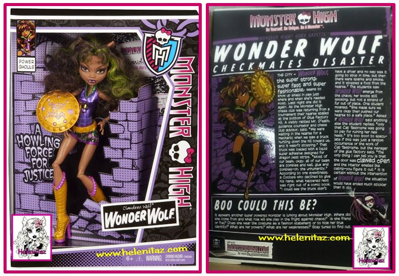 Wonder Wolf Monster High