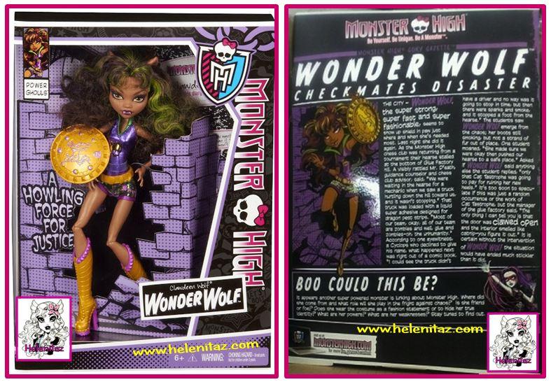 Wonder Wolf Monster High