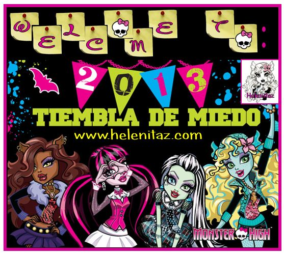Welcome to 2013 Monster High - Helenitaz