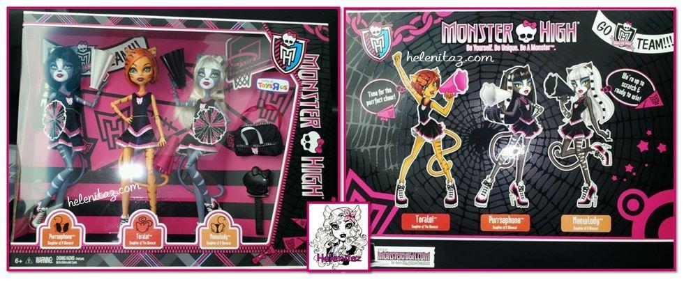 Monster High Fearleading 3 pack.