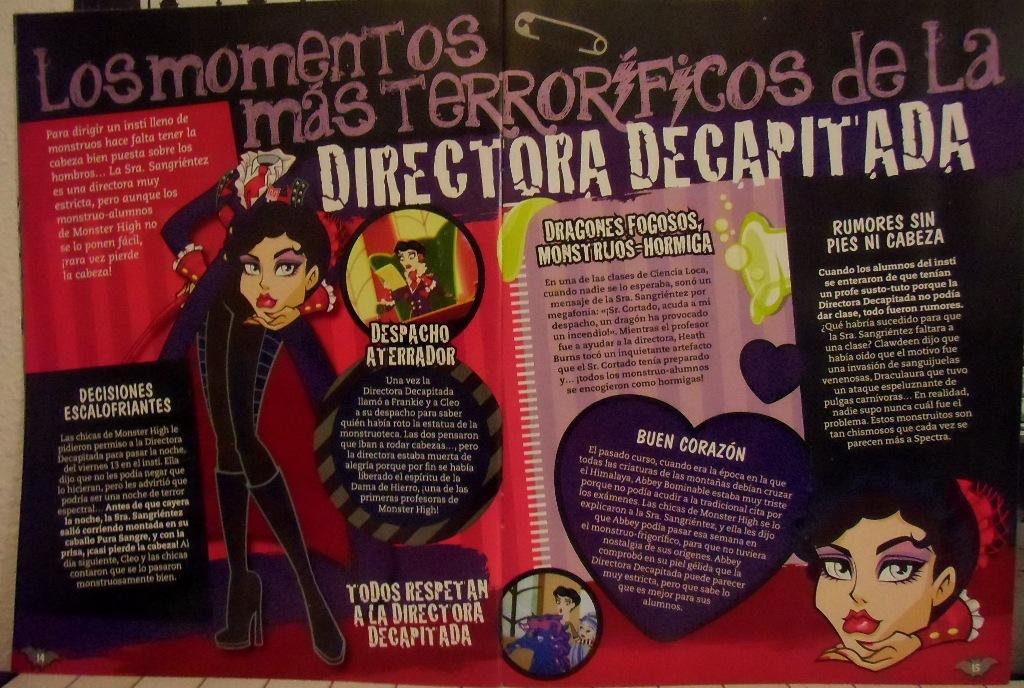 Revista Monster High Nº 16 de Panini España - Todos los derechos reservados.
