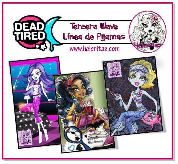 Línea dead Tired 3 por Helenitaz.com