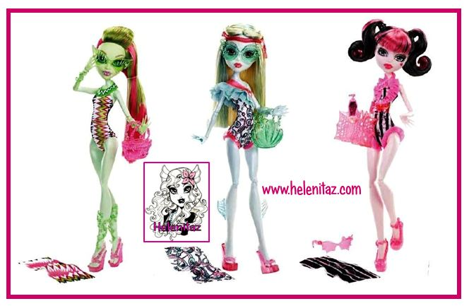 Colección Swim Monster High