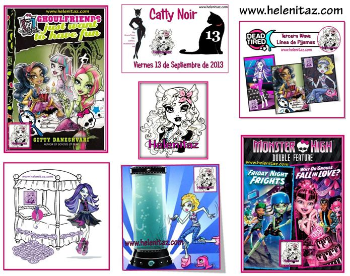 Resúmen de Cotilleos Monster High 2013