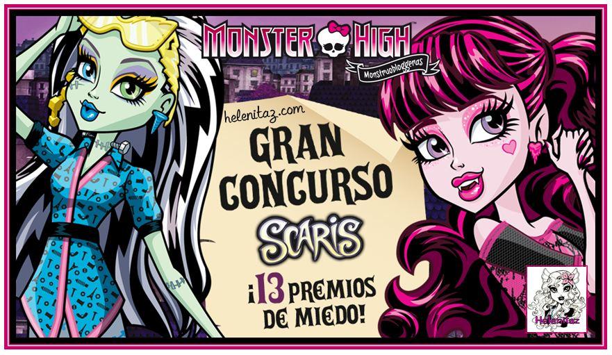 Concurso Monstruobloggeras - Marzo 2013