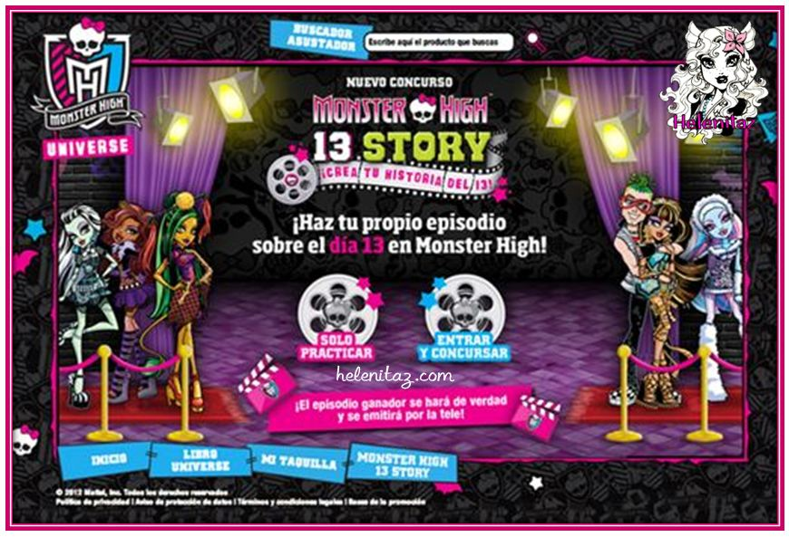 Monster High 13 Story by monstrubloggeras.com