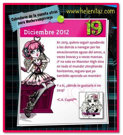 Los deseos de C.A. Cupid para 2013
