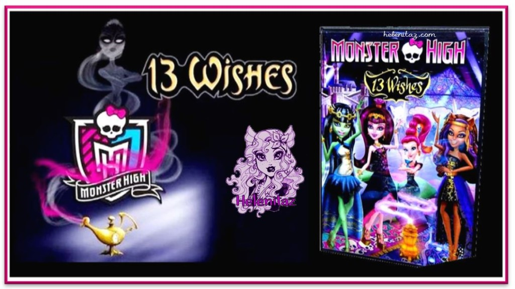 Monster High 13 Wishes DVD Movie