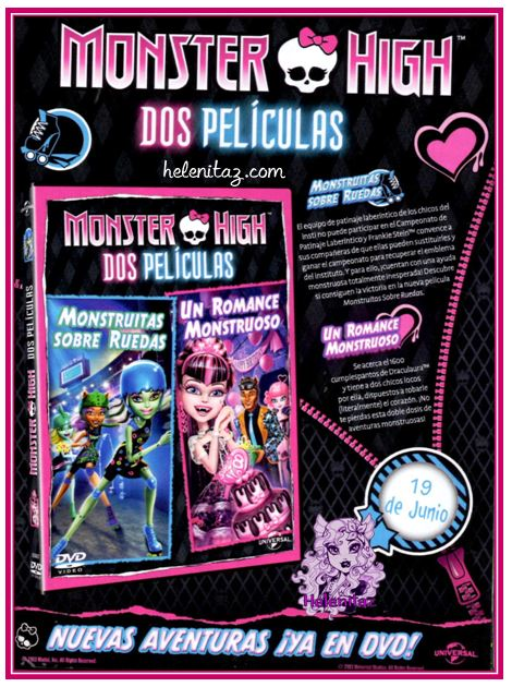 DVD Doble de Monster High - Mattel Inc.