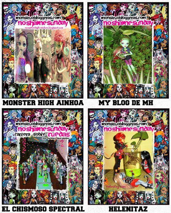 Ganadores No Shame Sunday Monstruobloggeras.