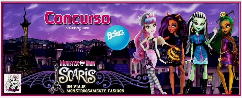 Boing.es - Concurso Monster High Scaris.