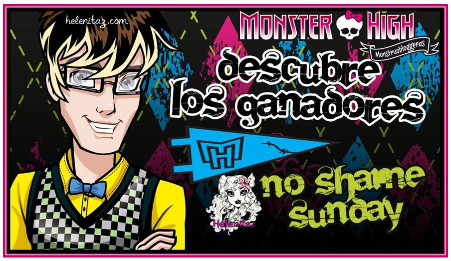 Monstruobloggeras - Ganadores del concurso No Shame Sunday.