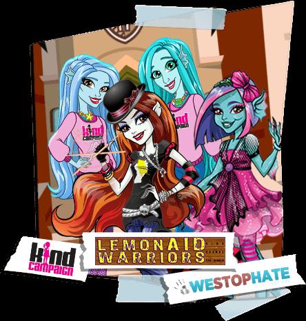 Monster High - Lemonaid Warrios