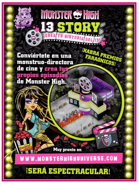 Monster High Universe - 13 Story