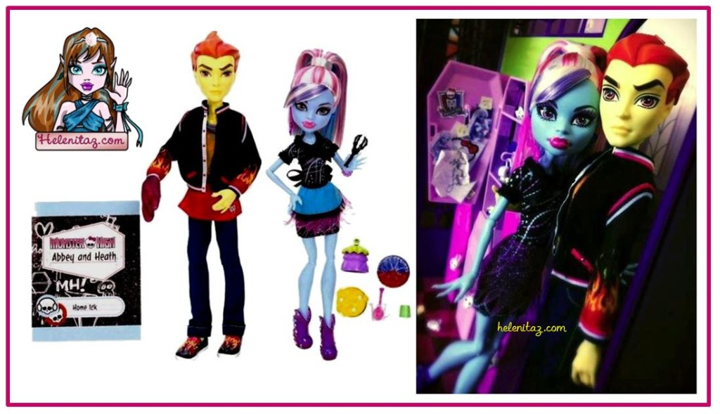Abbey y Heath Home ICK - Foto vía Monster High Dolls.