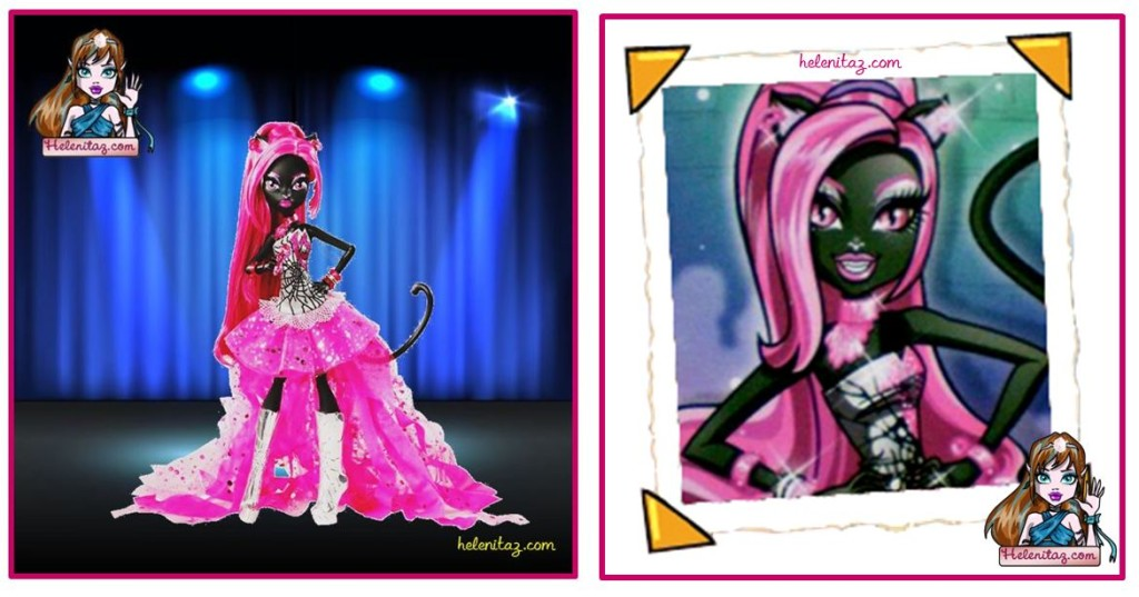 Prototipo oficial de Catty Noir - Foto vía Monster High Dolls.