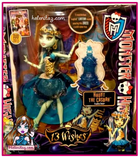 MH 13 Deseos – Frankie – Foto vía The Monster High Dolls en