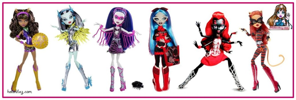 Colección Power Ghouls Monster High