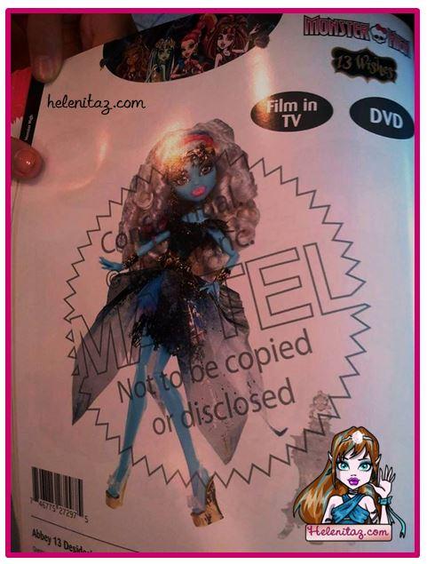 Abbey 13 Deseos - Foto vía: FB Monster High México.