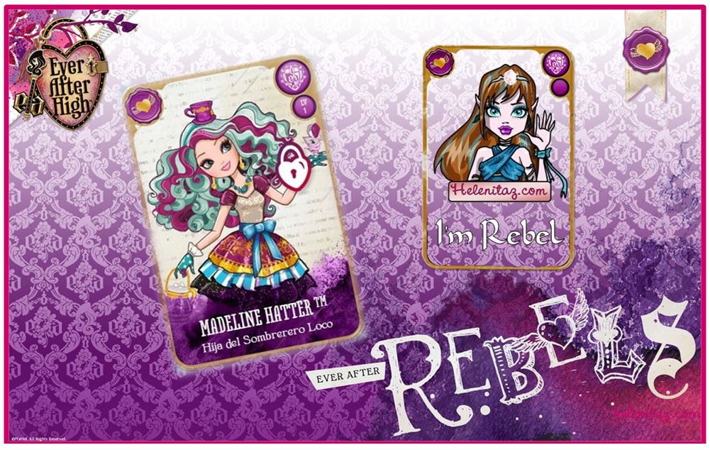 En Ever After High yo soy un REBEL - helenitaz.com