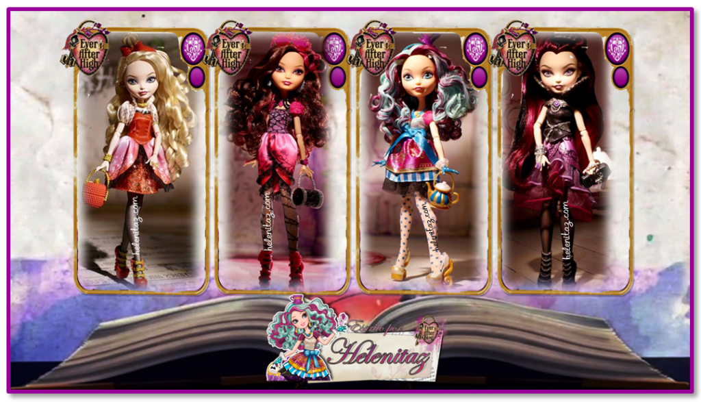 Ever After High Dolls - Wave 1