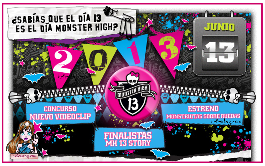 Monster High España - News 13 Junio
