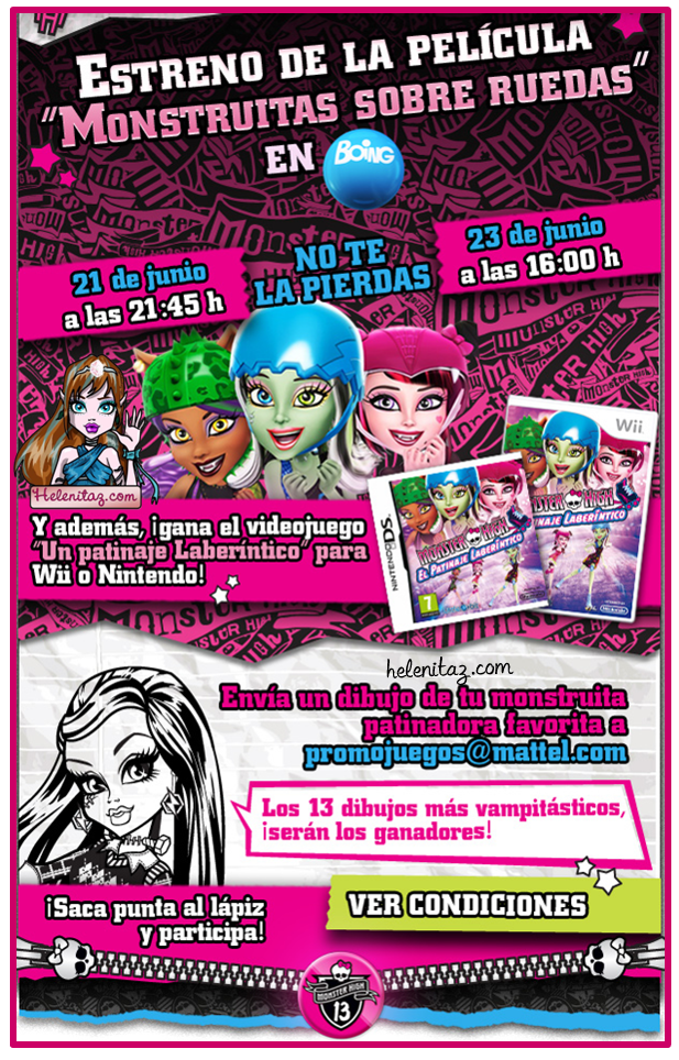 Monster High España - News 13 Junio.