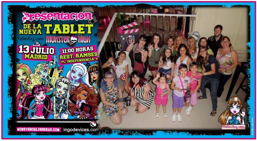 Presentación Tablet Monster High por www.helenitaz.com (13-07-13)