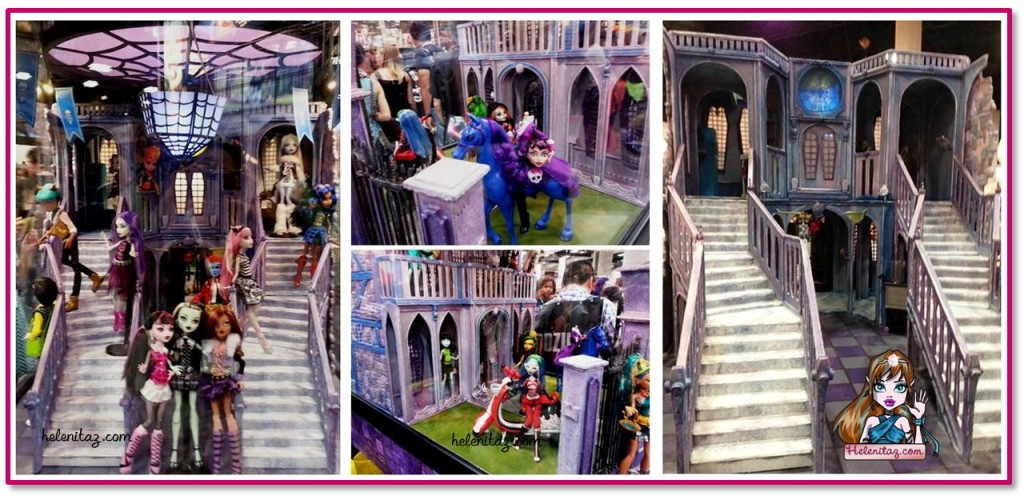 Maqueta Instituto Monster High para la SDCC 2013