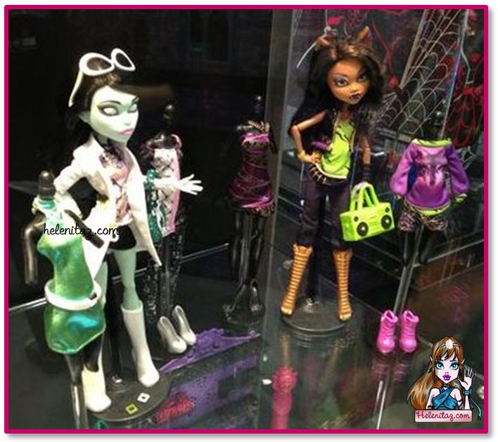 Scarah y Clawdeen I Love Fashion